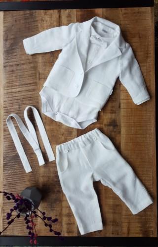 _Baltas kostiumėlis su bodžiuku