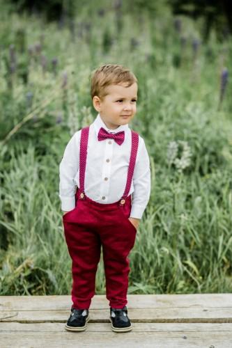 Džentelmeno kostiumėlis be švarko