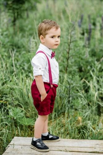 Džentelmeno kostiumėlis su šortukais