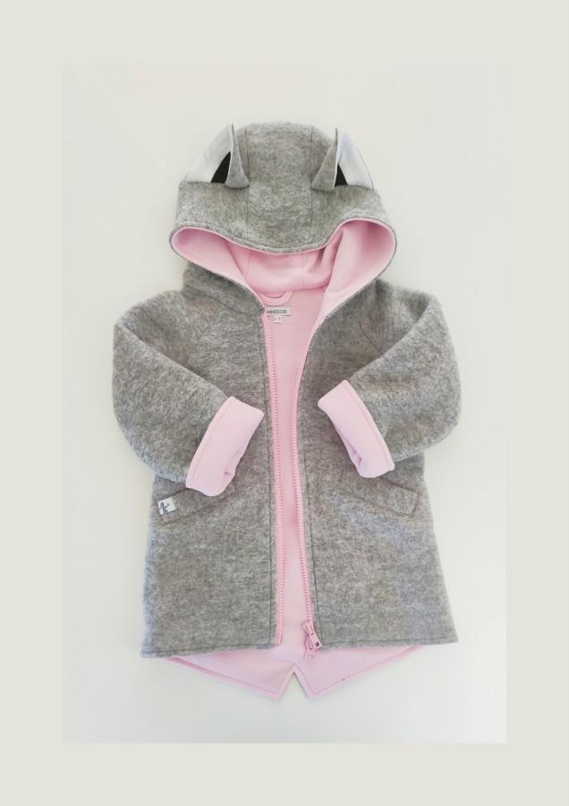 Grey - Pink Fox