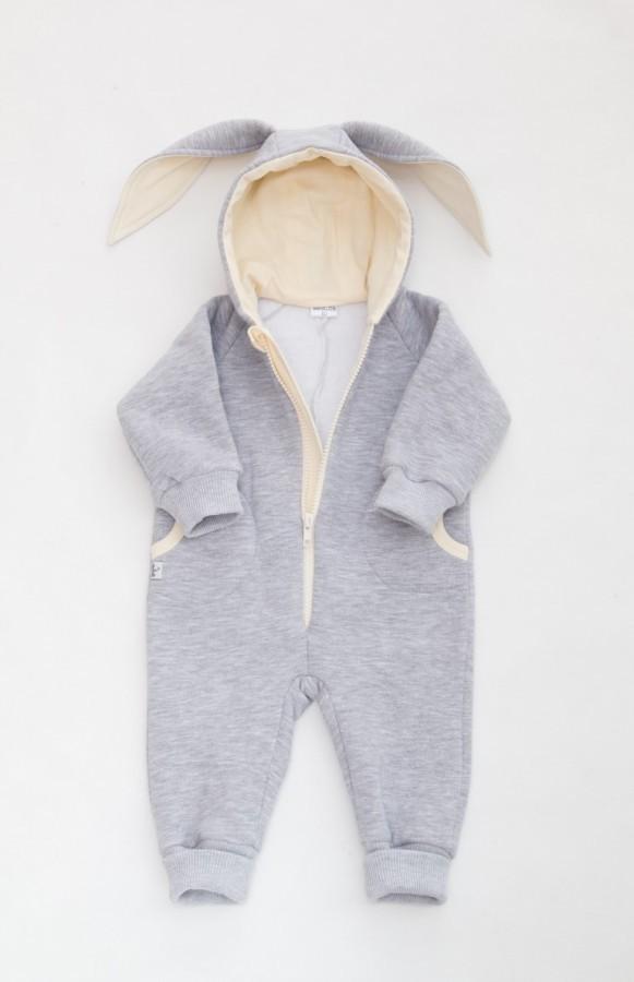 Grey Cream Baby Bunny