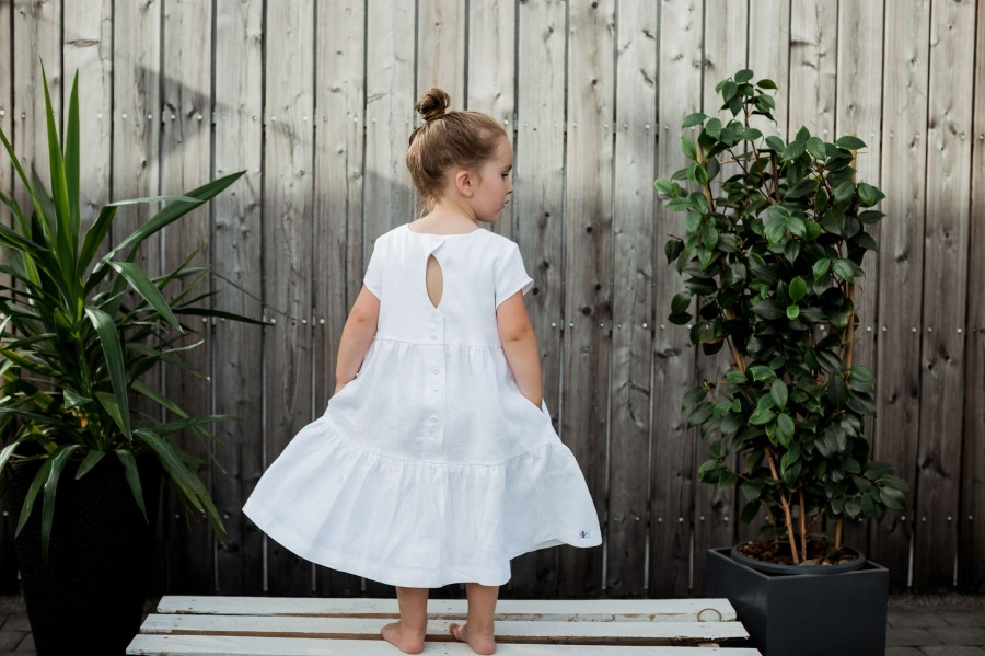 Suknelė VASARA - balta