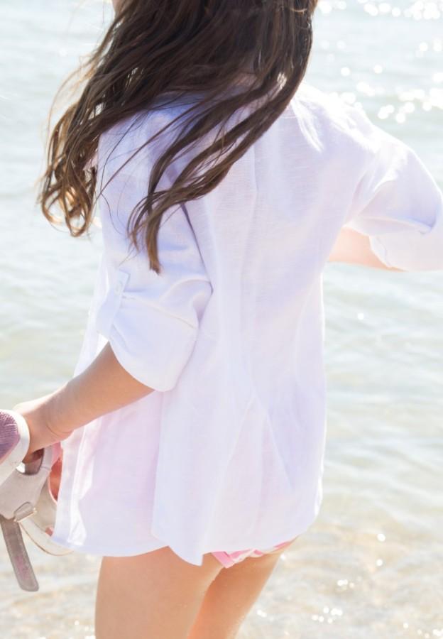 Balti BROLIO marškiniai