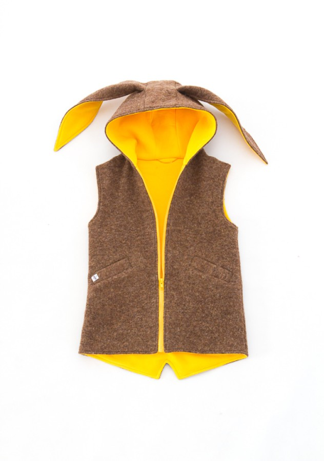 Brown - Yellow Bunny