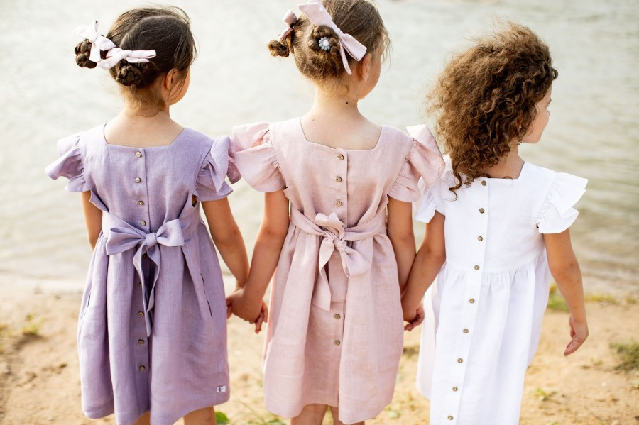 DRAUGIŲ suknelė - mėtinė