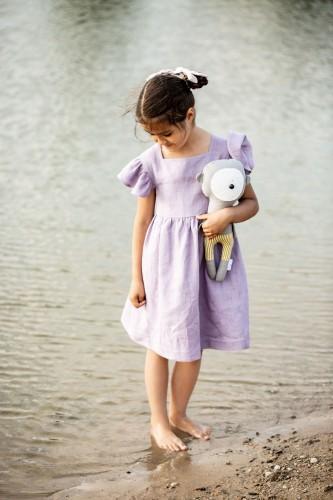 DRAUGIŲ suknelė - pelenų alyvinė