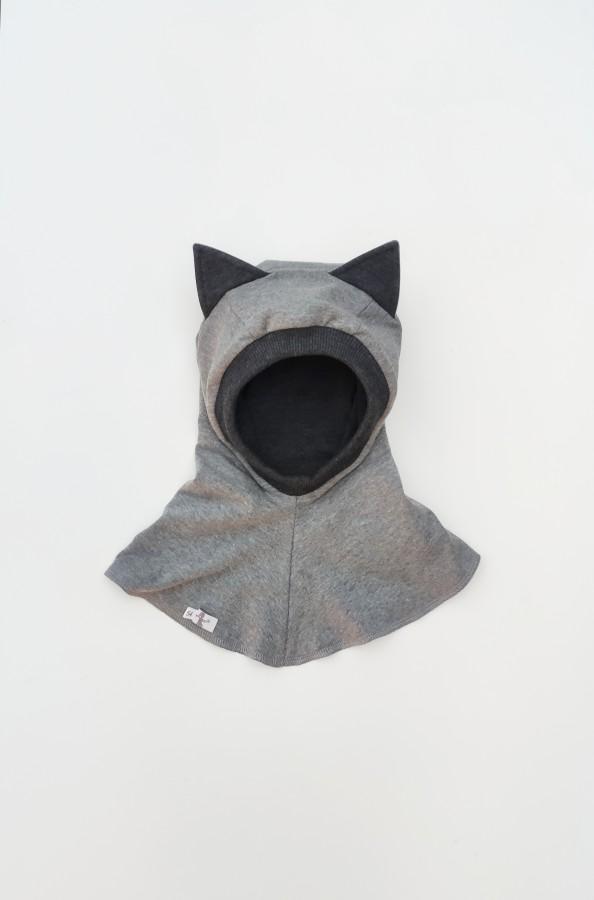 Grey Kitten Autumn