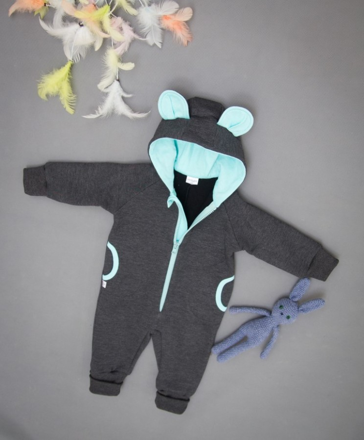 Grey Mint Baby  Bear