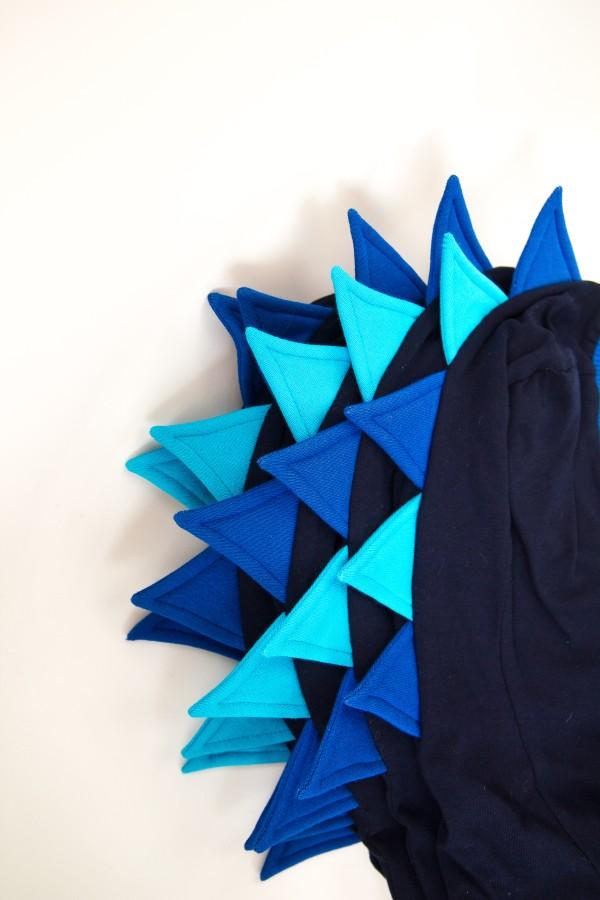 Blue- Navy Dragon