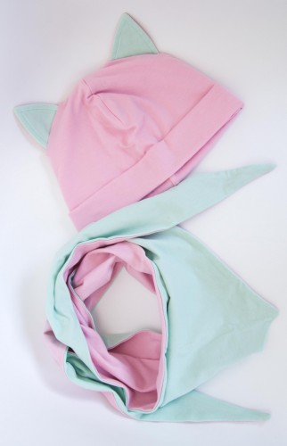 Pink -Mint Kitten