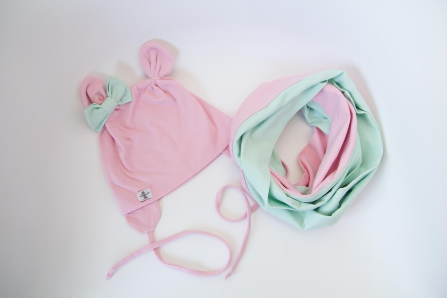 Pink - Mint Mini Bear