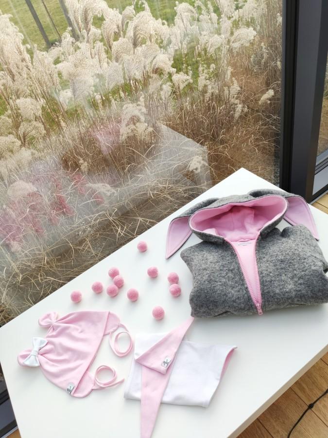 Pink - White MINI Bear