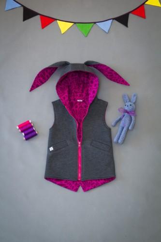 Purple - Fuchsia Bunny