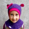 Purple - Fuchsia Bear