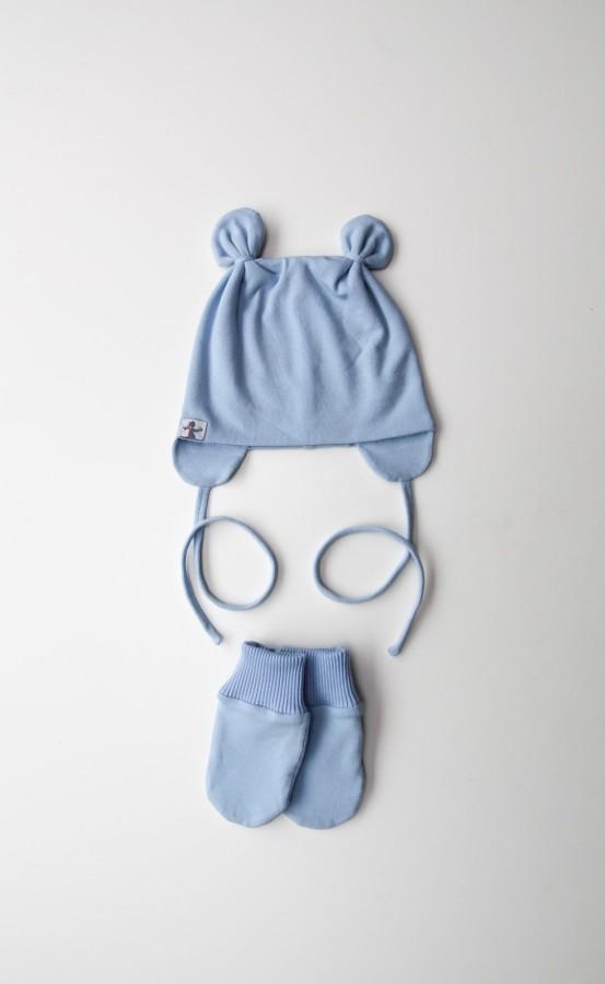 Sky Blue Boys Mini Bear