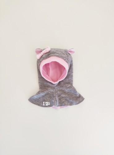 VILNONIS ŠALMAS Pink Teddy