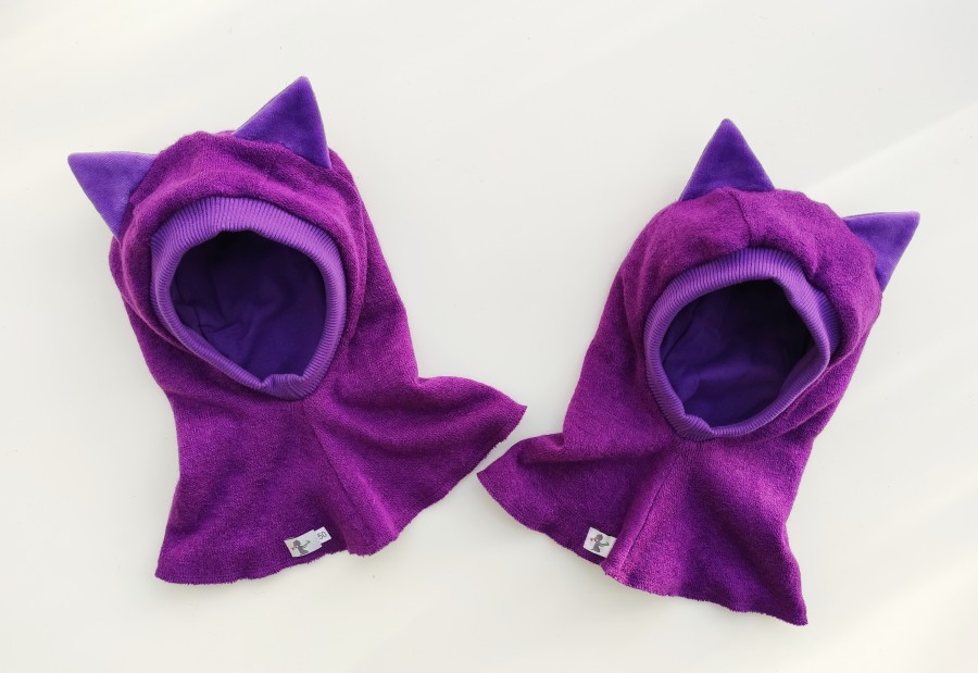 VILNONIS ŠALMAS Purple Kitten